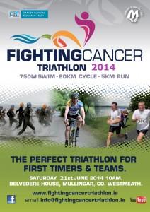 Fighting Cancer Triathlon Flyer 2014